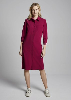 Travel Dress Shirt Dress Masai Red