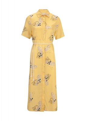 Rhumaa CONFIDENCE PRINTED CUPRO DRESS
