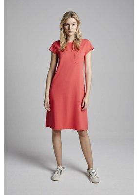 Travel Dress Pique T-Shirt Dress Corallo