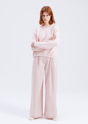 Zenggi COTTON POPLIN BETTE TROUSERS POWDER PINK