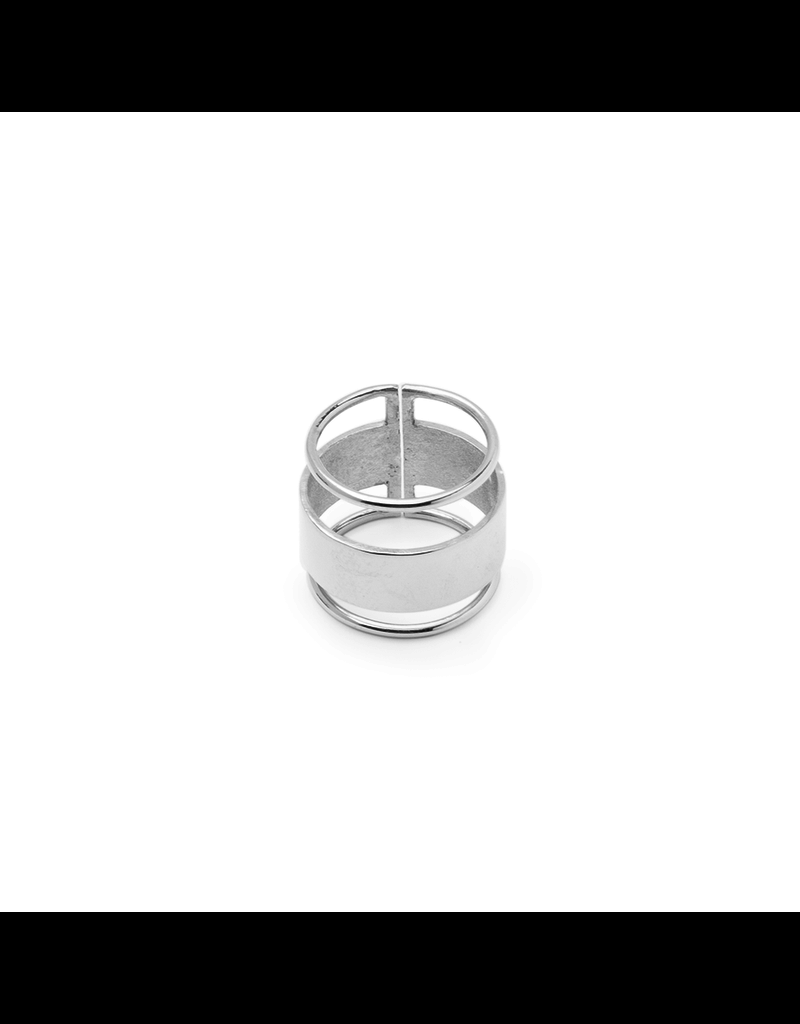 Ring breed met 2 strepen