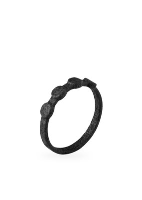 Ola Minimal Solid Ring Black