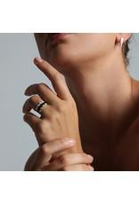 Ola Minimal Solid Ring Black