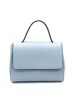 Handtas lichtblauw klein
