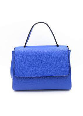 Handtas felblauw klein