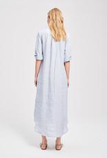 Zenggi Small Stripe Jasmin Dress Eton Blue