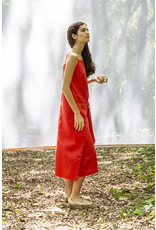 Suite13 Africa Dress Poppy Red