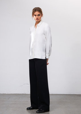 Zenggi Silky Edy Blouse Off White