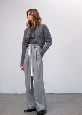Zenggi SOFT MOHAIR SHRUG GREY