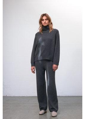 Zenggi Eco Cashmere Knit Pants Grey