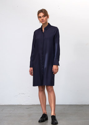 Zenggi Silky Erin Dress Midnight Blue