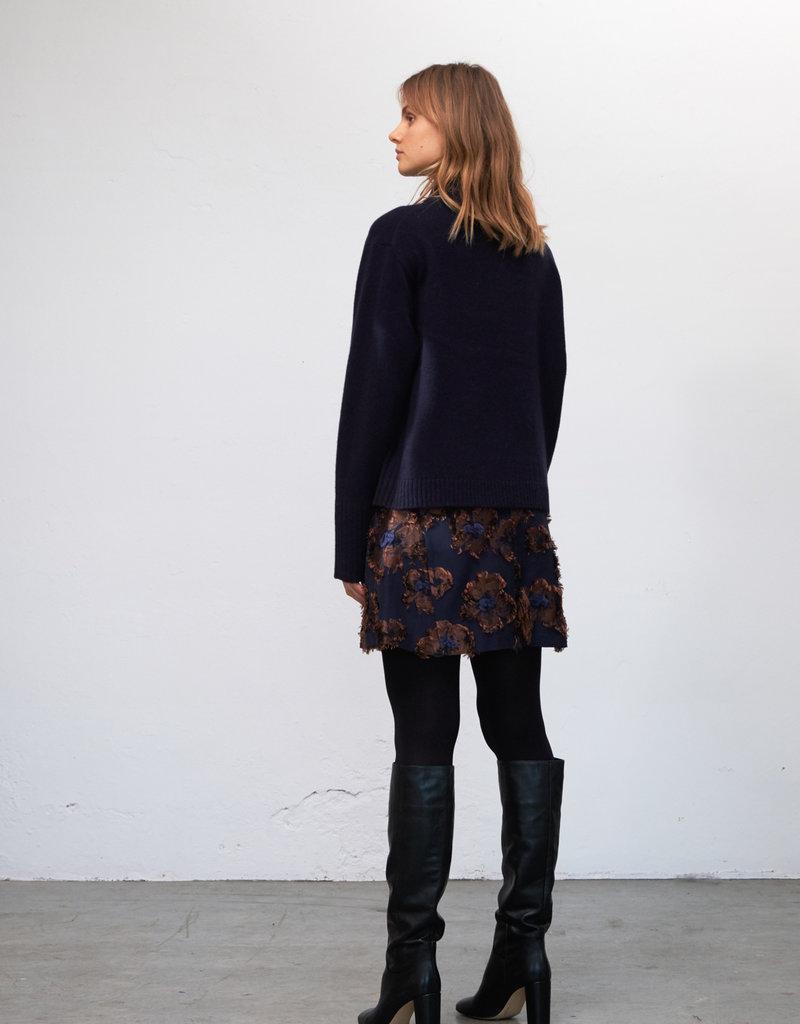 Zenggi Flower Mini Skirt