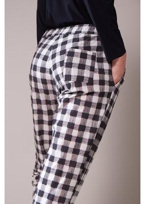 Travel Dress CASUAL DRAWSTRING CHECK PANTS