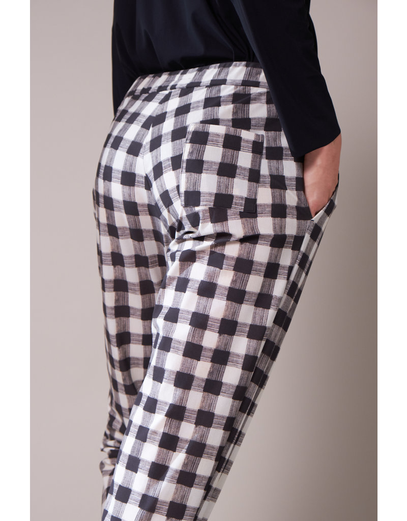 Travel Dress CASUAL DRAWSTRING CHECK PANTS