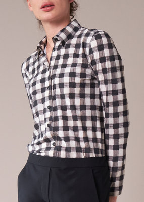 Travel Dress SHIRT CHECK PRINT