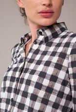 Travel Dress SHIRT CHECK PRINT