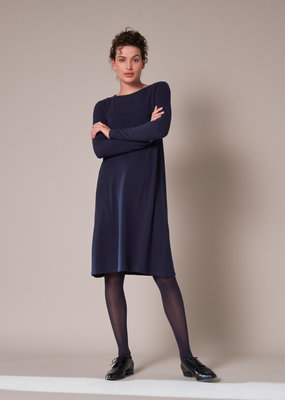 Travel Dress LONG SLEEVE TEE DRESS SOFT BLUE