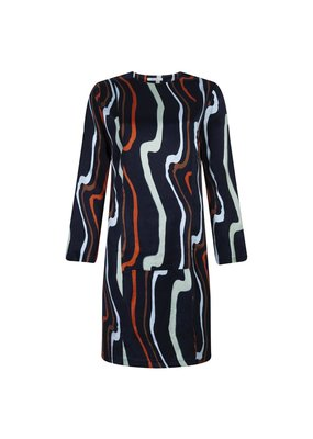 Rhumaa FLOW ART NAVY DRESS