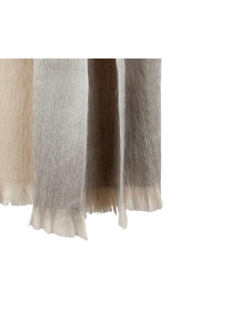 Bufandy Sjaal Alpaca FABIAN OMBRE - Winter Pearl