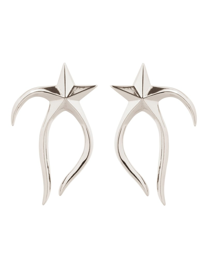 Wouters & Hendrix STATEMENT STUD EARRINGS WITH MELTING STAR