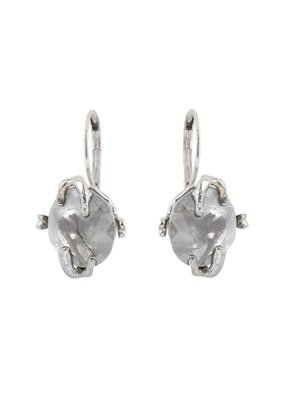 Wouters & Hendrix LEVERBACK EARRINGS WITH TOURMALINE QUARTZ