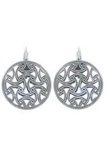 Konplott earring eurowire Shades of Light black size XS antique