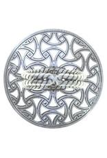 Konplott ring Shades of Light black size S antique silver