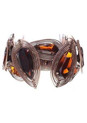 Konplott bracelet Amazonia brown antique copper