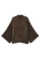 Skatië Sweater jacket japanese sleeve black