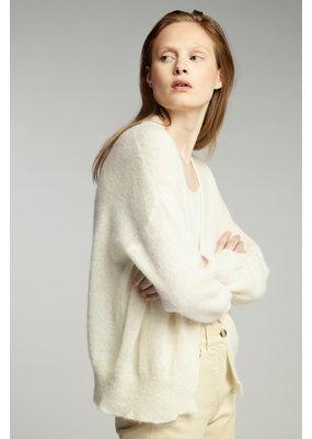 Zenggi Summer Alpaca Cardi Off White