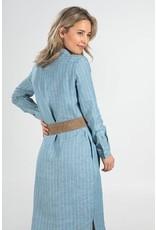 Josephine&Co Jurk Bem stripe Light Blue