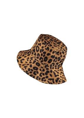 Hoed omkeerbaar Geel/tijger