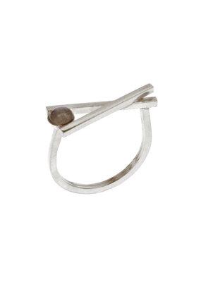 Rebels & Icons Ring chopsticks zilver