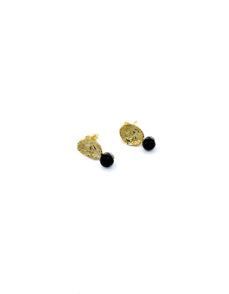 Tina Kotsoni Earring Onyx