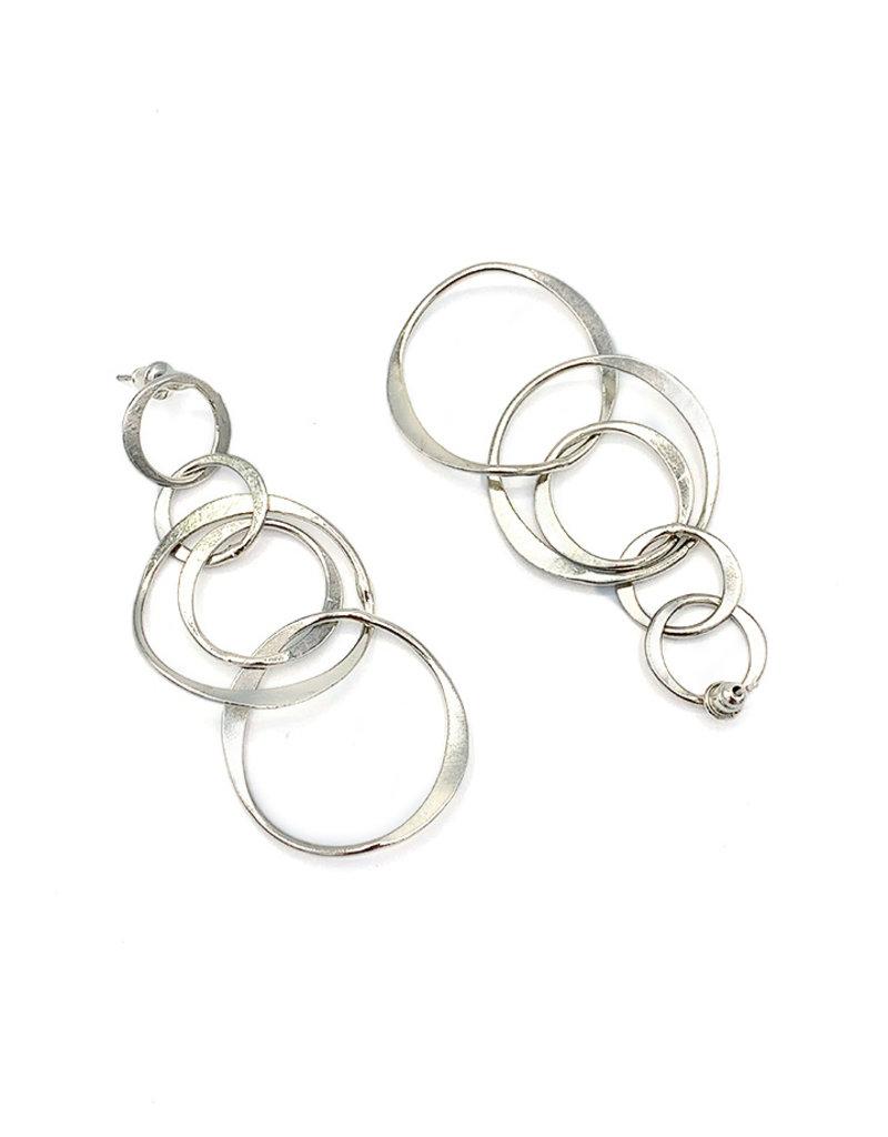 Replica Oorbellen stekers verschillende open cirkels Ziler