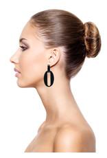 Manuel Opdenakker Earrings Nina L Black