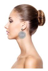 Konplott earring stud dangling Shades of Light black size M