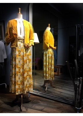 Phisique du role Skirt with print yellow