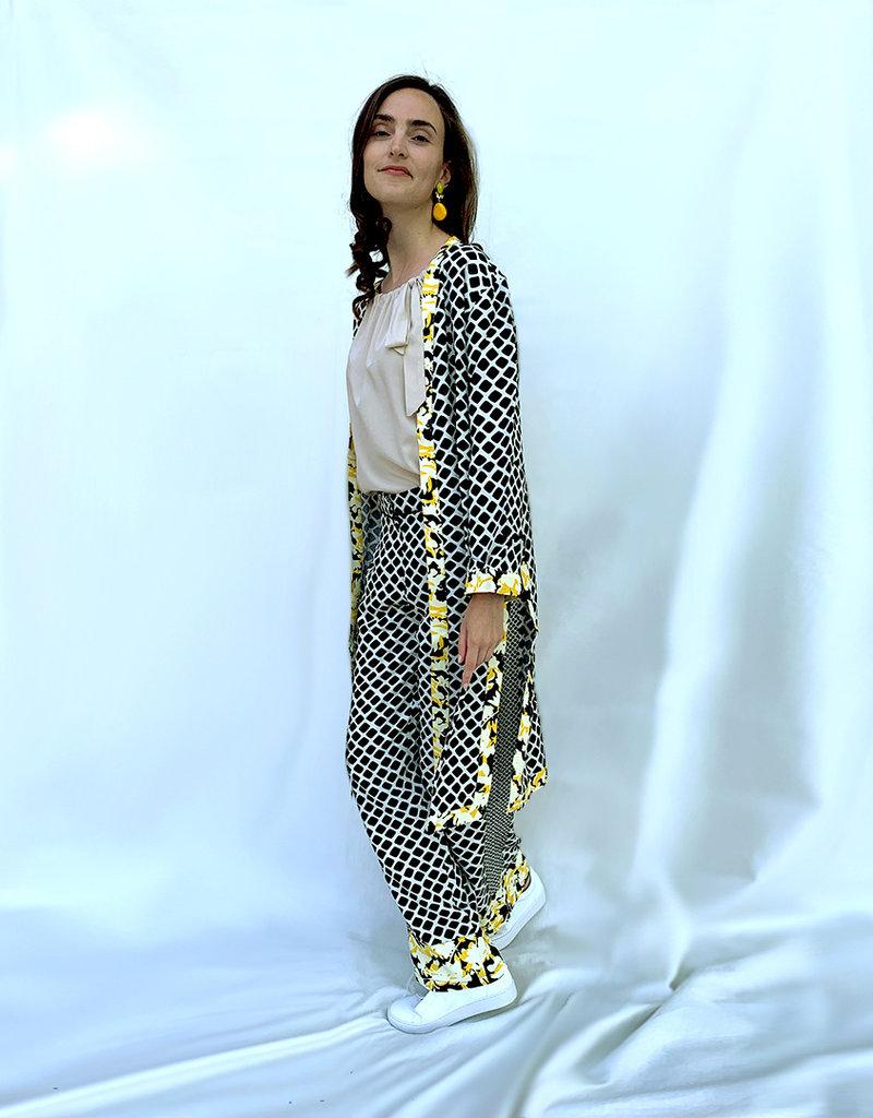 Studio Italy Kimono met print
