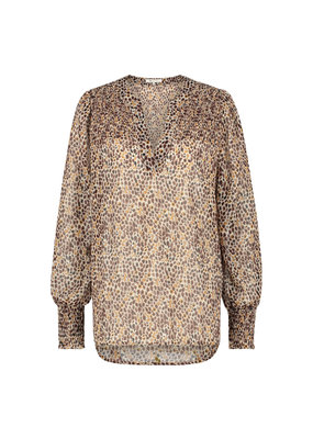 Nukus Candy Blouse Brown