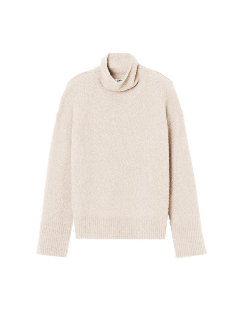 Zenggi TURTLENECK PULL CREAM