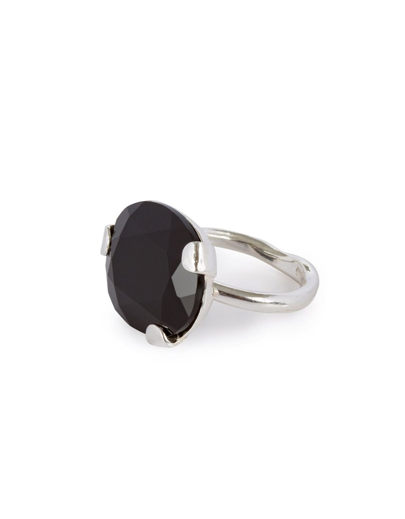 Wouters & Hendrix STATEMENT RING WITH ONYX