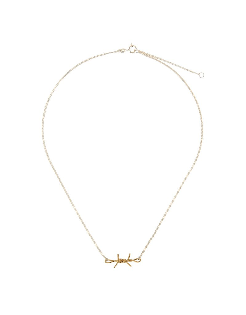 Wouters & Hendrix DELICATE NECKLACE WITH BARBED WIRE ELEMENT