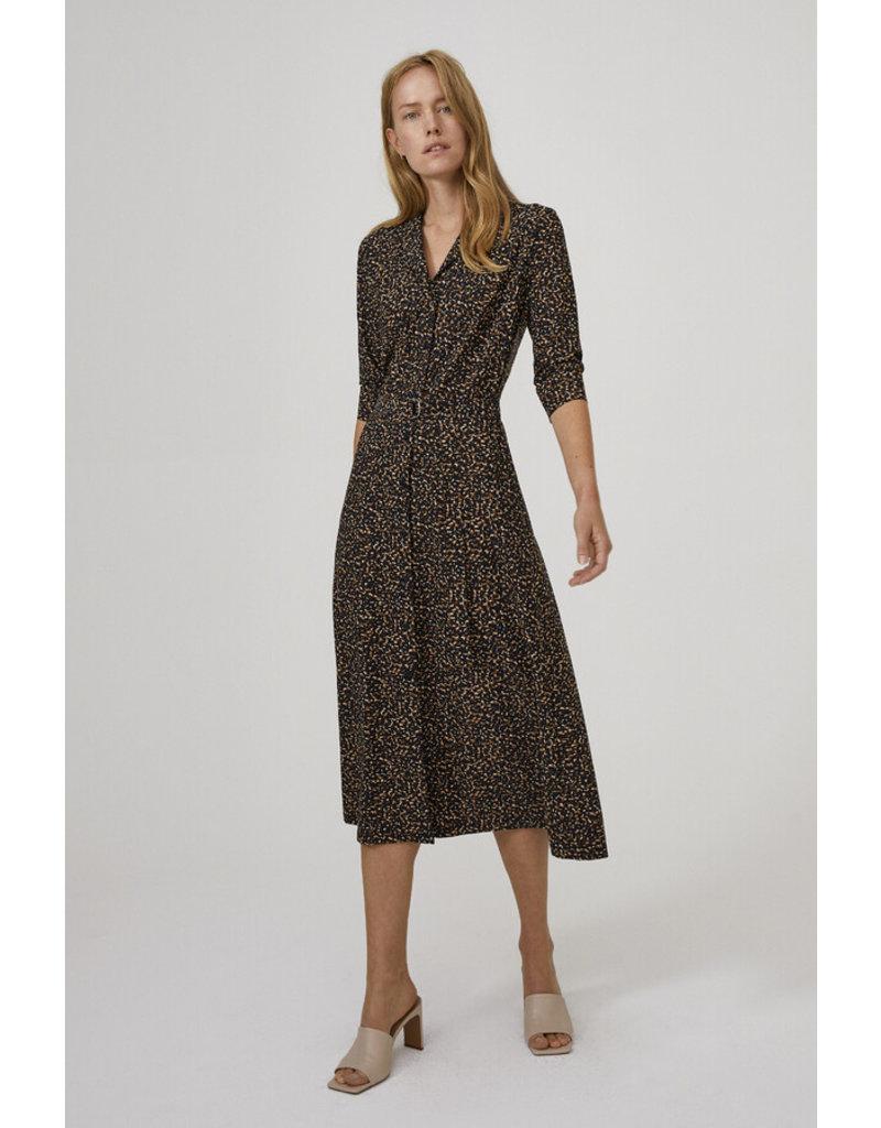 Travel Dress SOFT PRINT SHIRT DRESS TIMBER