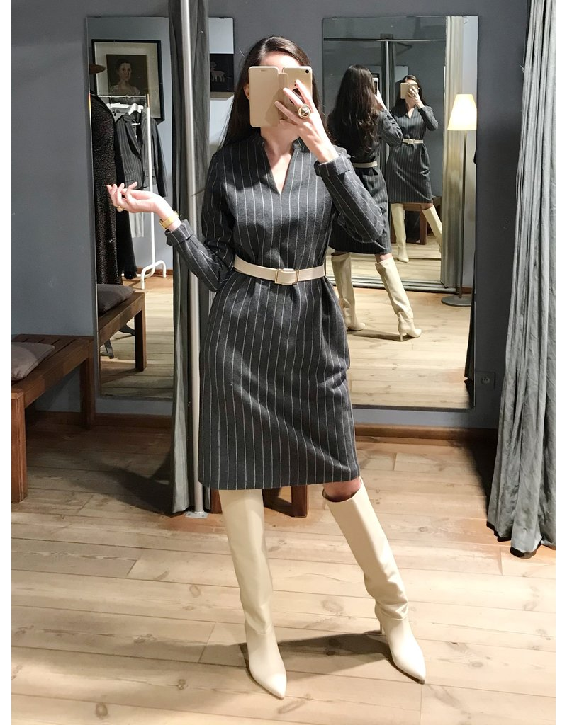 Josephine&Co John Dress Stripe Grey