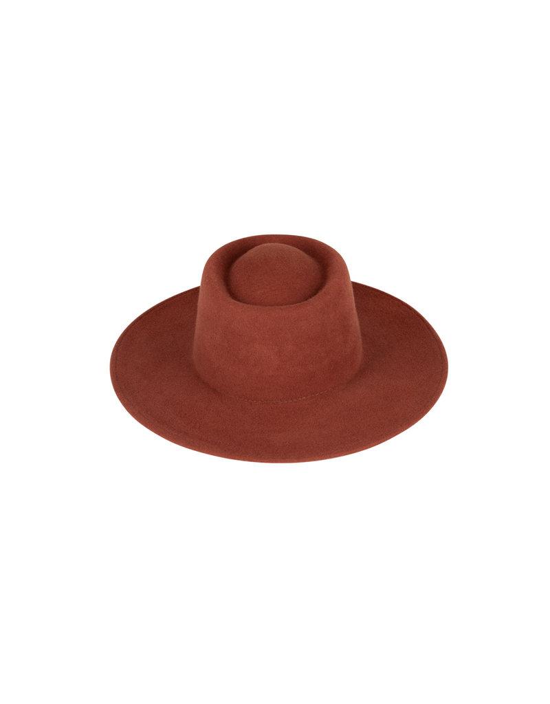 Bufandy Hat Felt BOLERO - Dark Russe