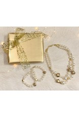 Christmas gift set  including a necklace and two matching bracelets