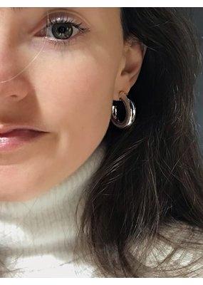 Heide Heinzendorff Silver hoop earrings