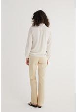 Zenggi Techno Silk Blouse Off White