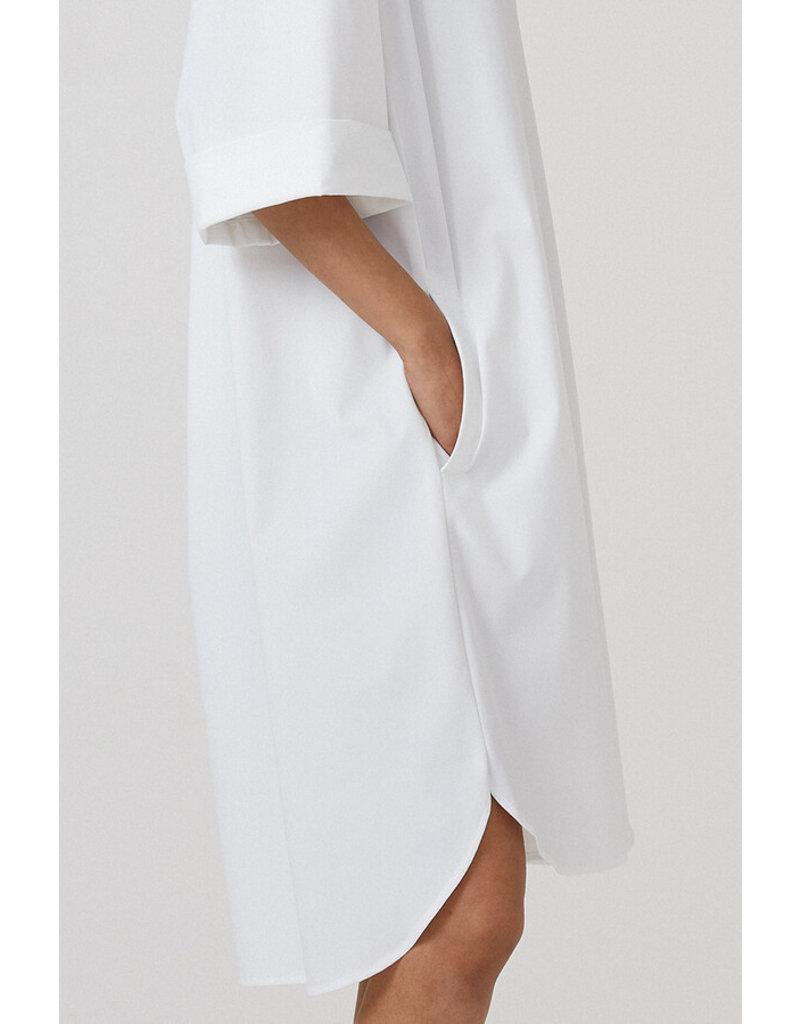 Travel Dress LOOSE TUNIC DRESS OFF WHITE